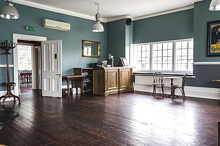 Function Room, Evening Hire **Hire the Function Room at The Selkirk SW17 for one the best options for venue hire London has to offer.**   This beautiful room at The Selkirk SW17 accommodates 40 people seated or up to 75 people