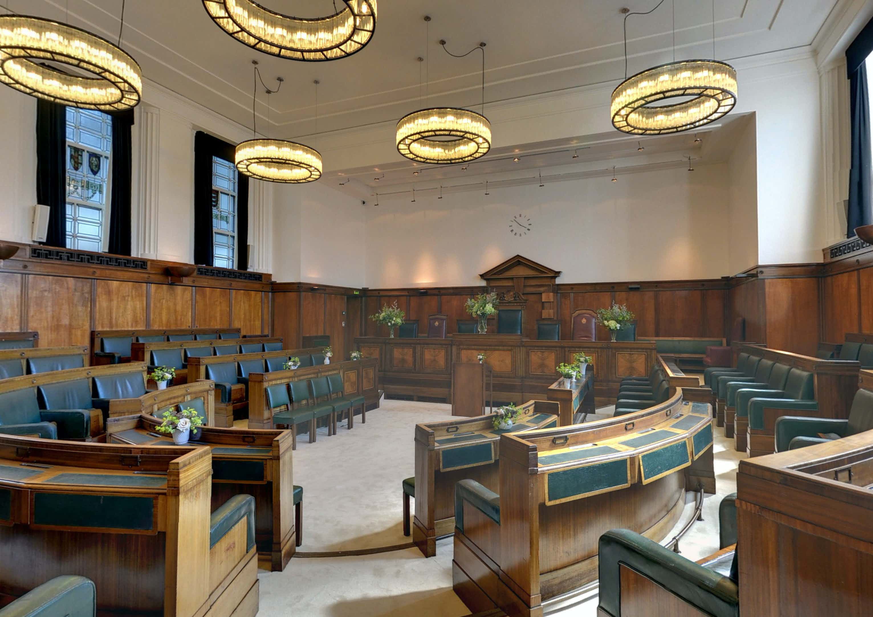 Council Chamber, Town Hall Hotel