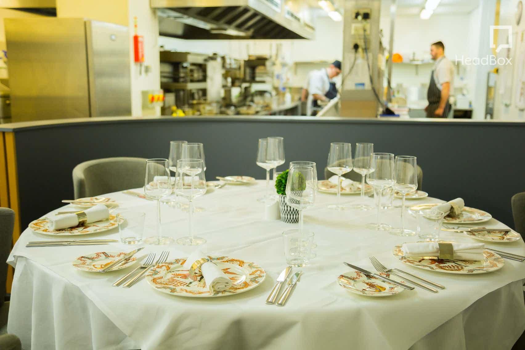 Kitchen Table, Opus Restaurant
