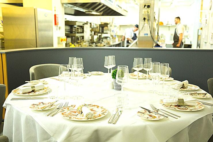 Kitchen Table **Hire the Kitchen Table at one of Birmingham's top restaurants, Opus, for one of the best options for private dining venue hire Birmingham has to offer.**   The Kitchen Table is just what it says: