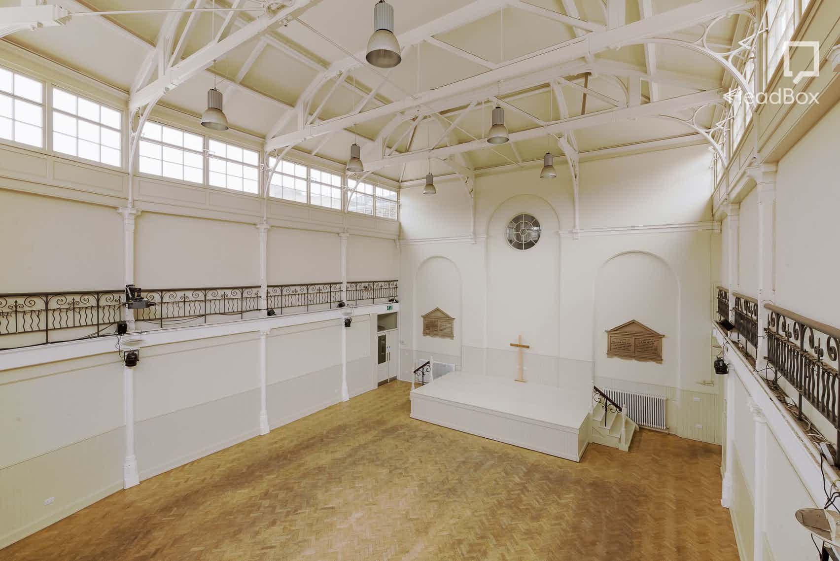 The Main Hall , The Tab Centre