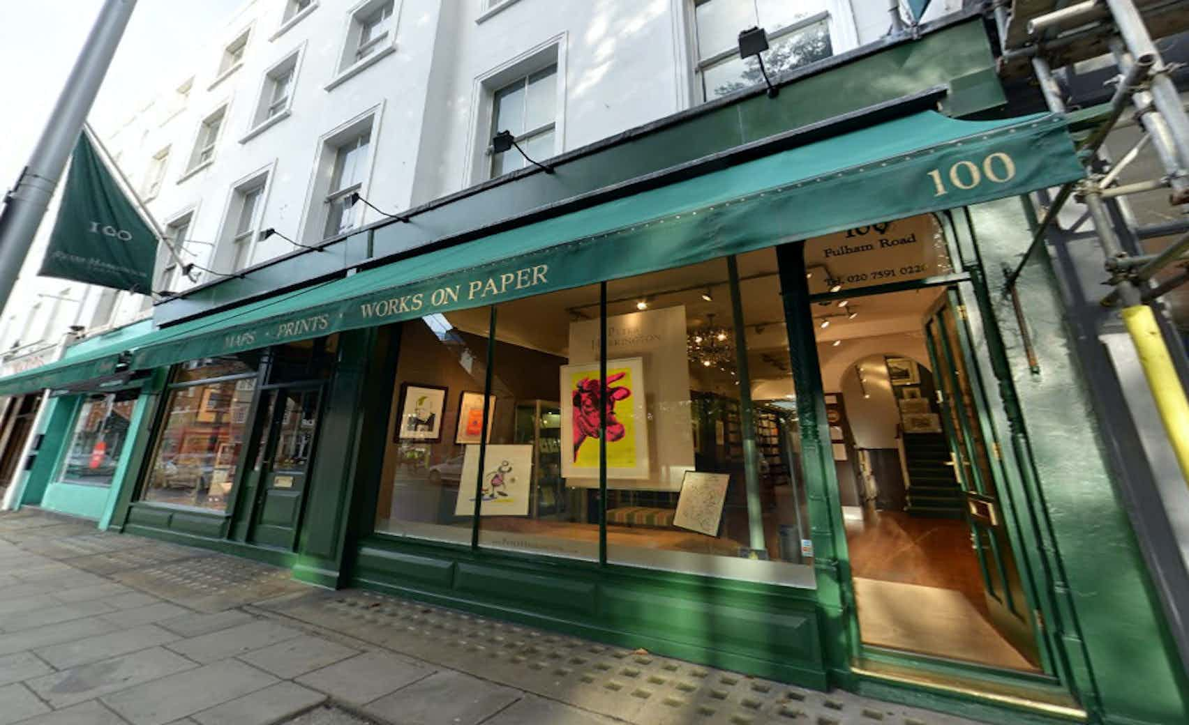 Rare Book Store, Peter Harrington