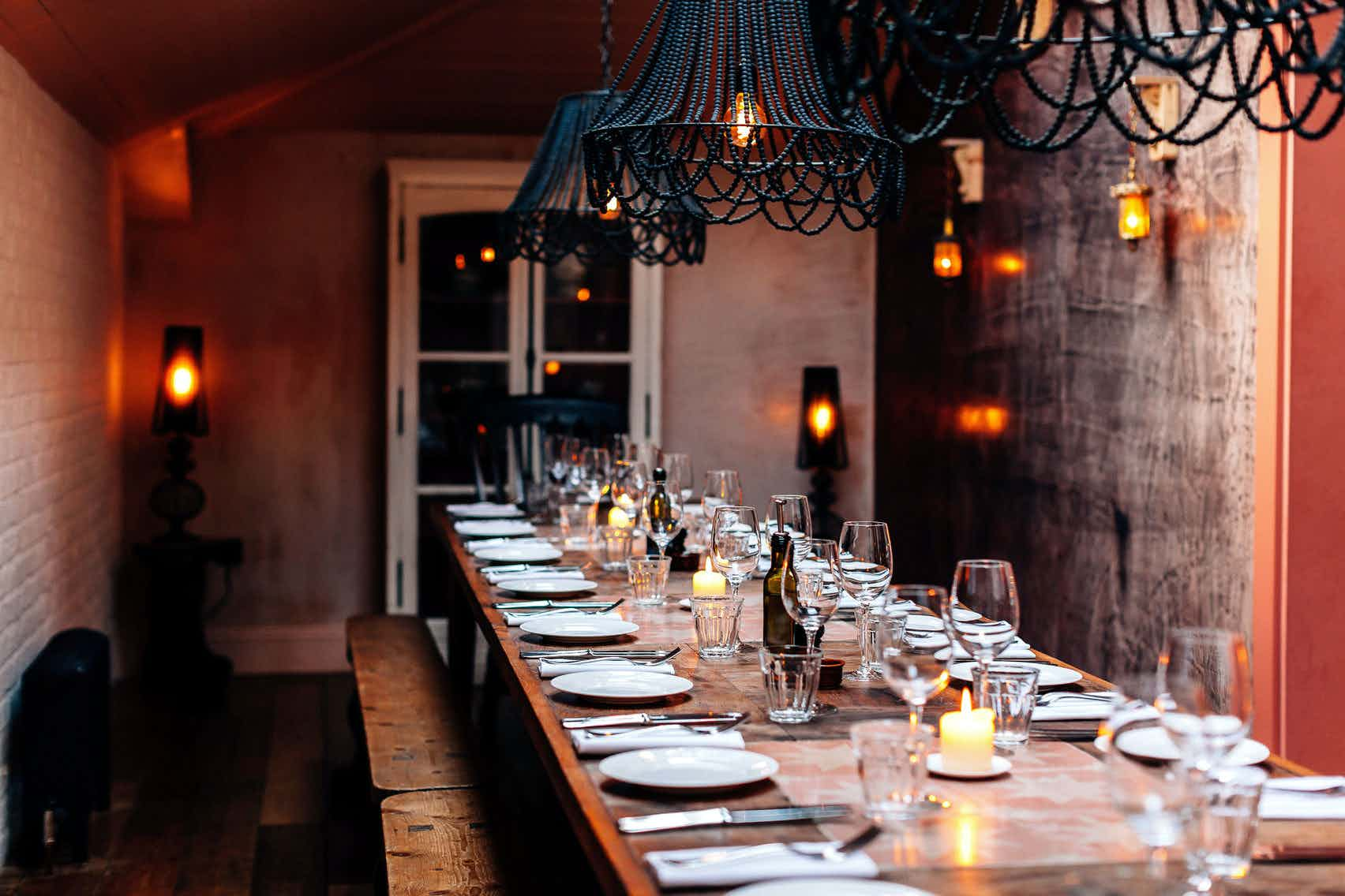Private Dining Room, The Oak W12