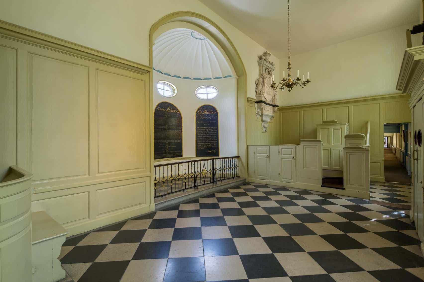 Chapel & Reading Rooms, Geffrye Museum