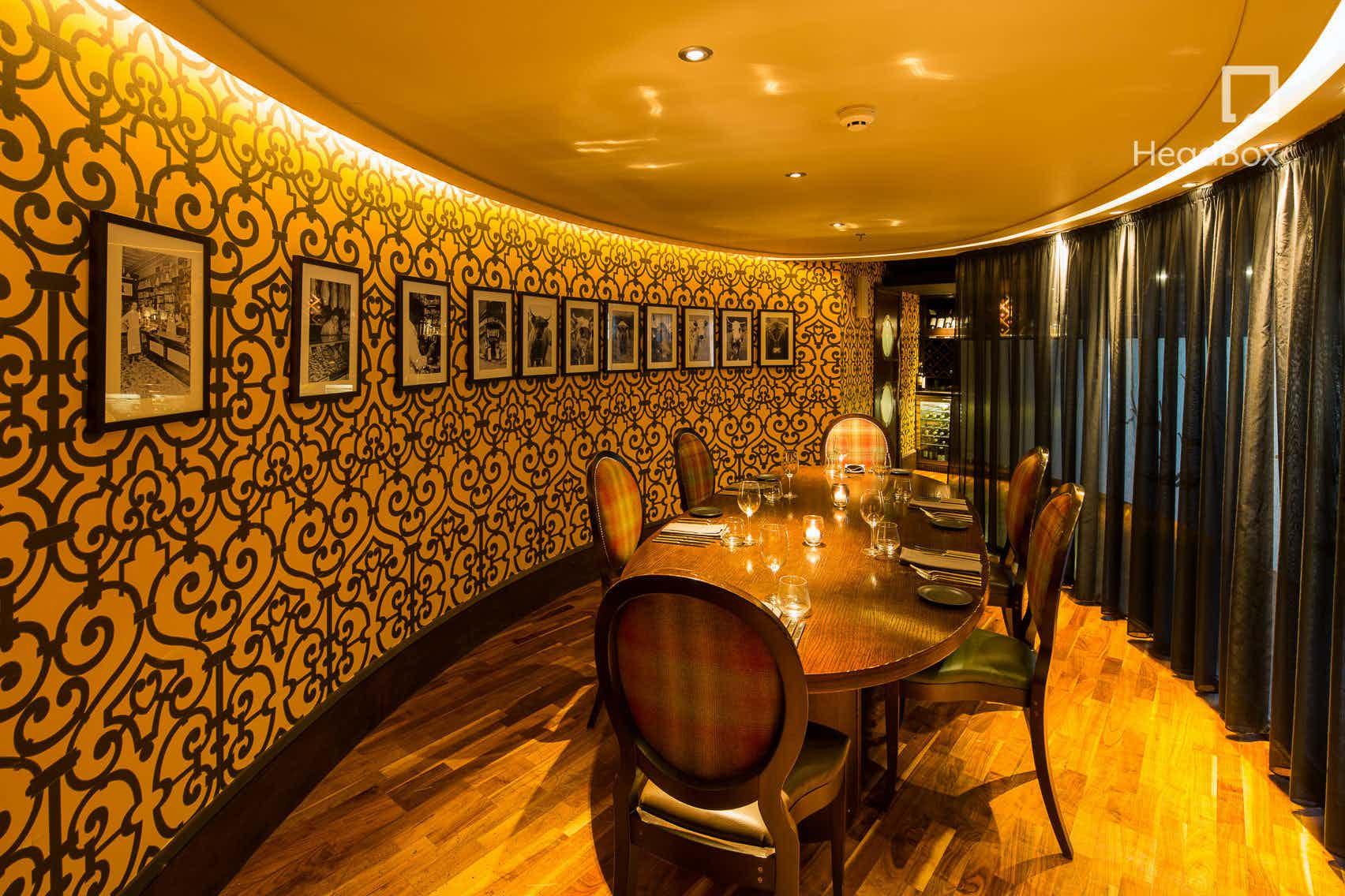 Chef's Table, James Martin Restaurant