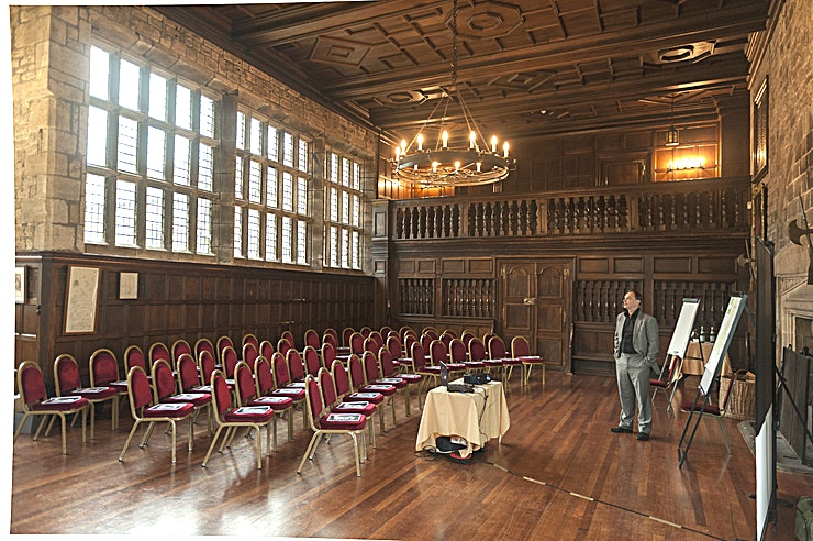 Banqueting Hall **Hire the Banqueting Hall for a spectacular backdrop for your next event**
