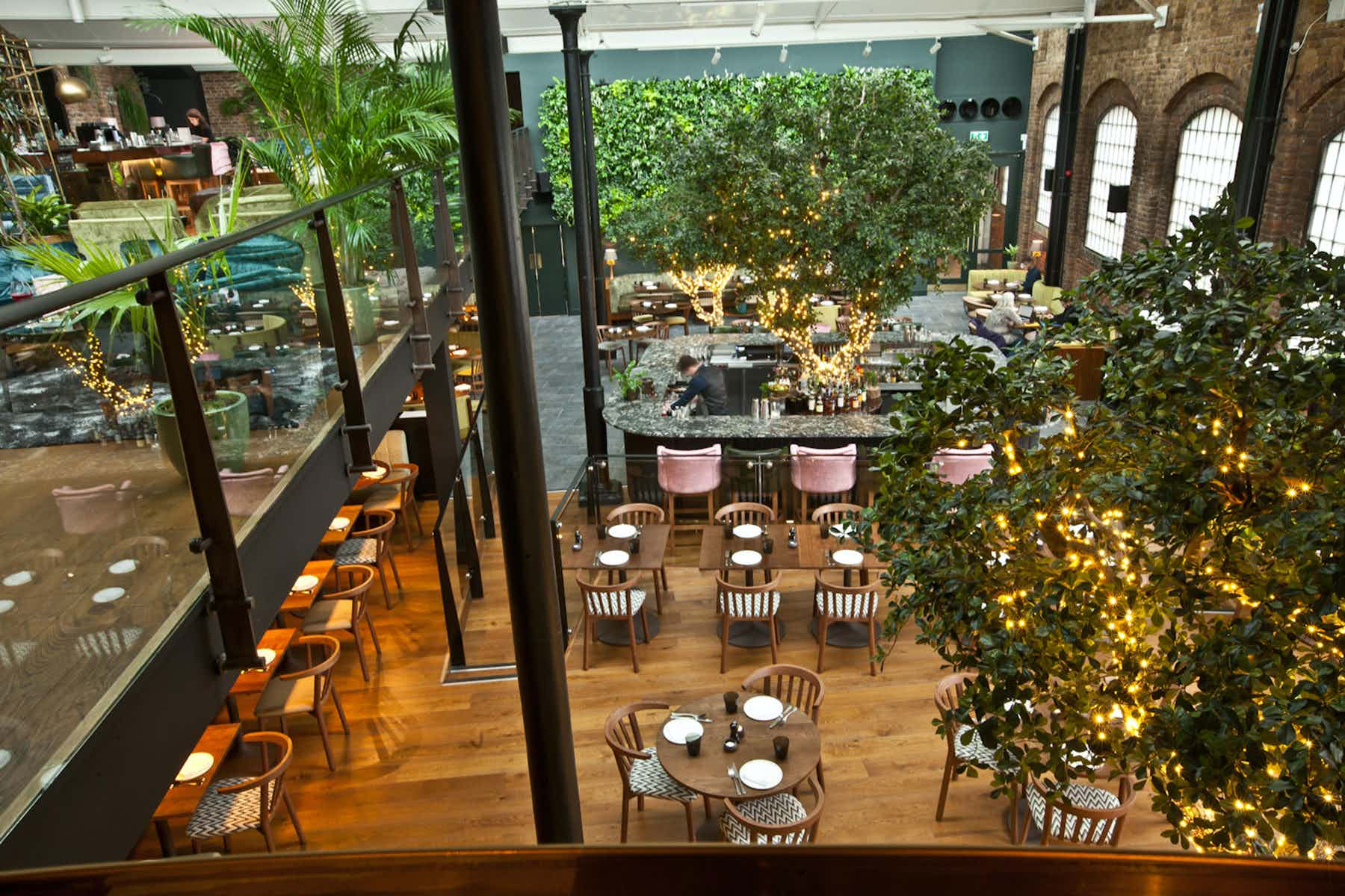 The Bloom Room, Restaurant Ours