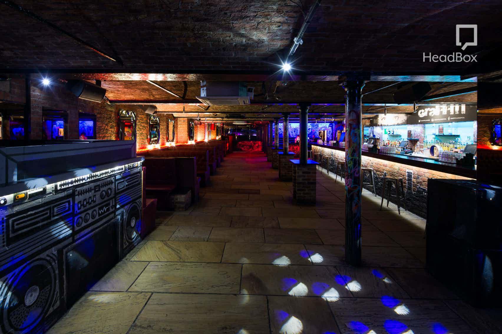 Main Bar, Graffiti Liverpool