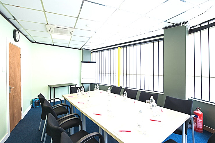 Conference Room 4 **Book Conference Room 4 at the Gateway Conference Centre in Liverpool for the perfect Liverpool meeting room hire.**  This unique Liverpool meeting room can hold up to 16 Guests around a boardroom style table in a room equipped with a HD screen and projector.  This meeting Space ensures that you'll have everything you need for a productive meeting or presentation.  The Gateway Centre was officially opened by the HRH Duke of Gloucester on the 2nd October 2002, offering a conference venue with a remarkable reputation.  The Gateway Centre is a fully accessible venue with level access to all ground floor Conference Suites and a full sized lift with voice control to all first floor suites.   The main entrance to the centre has a gentle slope from the doors to the reception desk. The main front doors are fully automatic and the reception area has a hearing loop system.   Adaptive Toilets are situated on the first and ground floors. All internal signage are tactile and all staff have had disability awareness training.  For an accessible and advantageous meeting room hire in Liverpool, Conference Room 4 at Gateway Conference Centre is the ideal option.