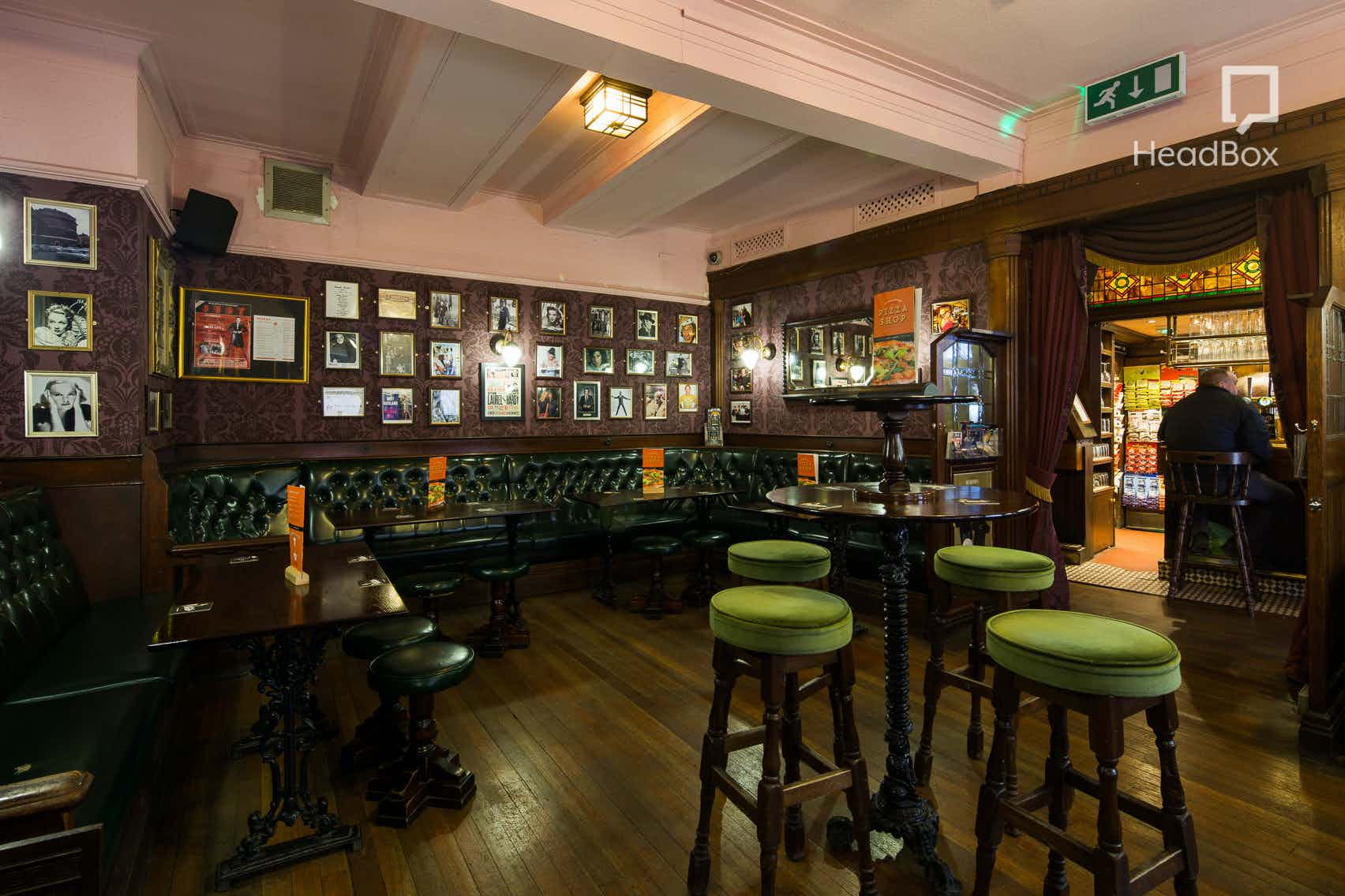 The Parlour Room, Ma Egerton's Stage Door