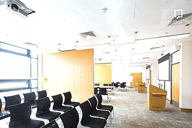 Roddick Rooms 1 & 2 **Hire Roddick Rooms 1 & 2 at 54 St James Street for an ideal meeting room hire in Liverpool for your next conference, workshop or presentation.**   The Roddick Rooms are very versatile; located on