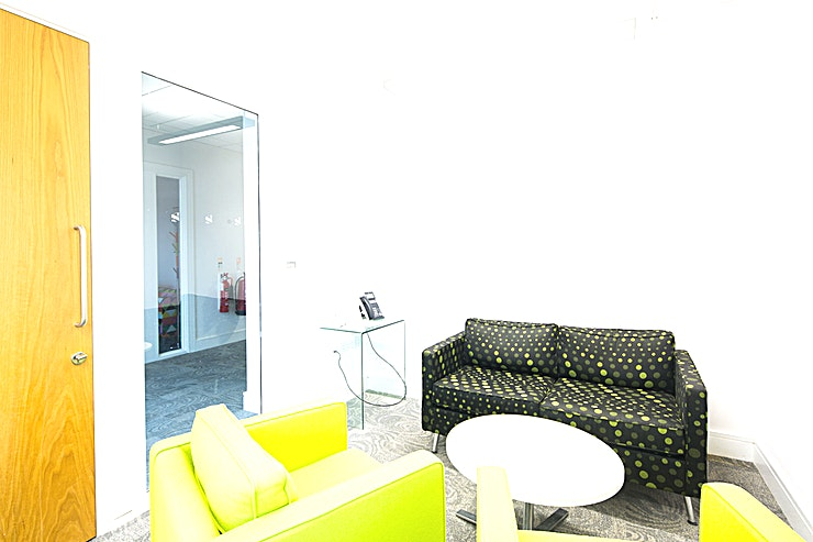Bebbington Lounge **Hire the Bebbington Lounge at 54 St James Street for one of the top meeting rooms Liverpool has to offer in the Baltic Triangle.**   The Bebbington Lounge is a relaxed yet vibrant space ideal for
