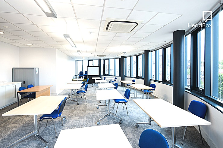 Fawcett Room **Looking for one of the best meeting rooms Liverpool has to offer? Book the Fawcett Room at 54 St James Street for your next meeting or training day.**  This light and airy semi-circular room on ou