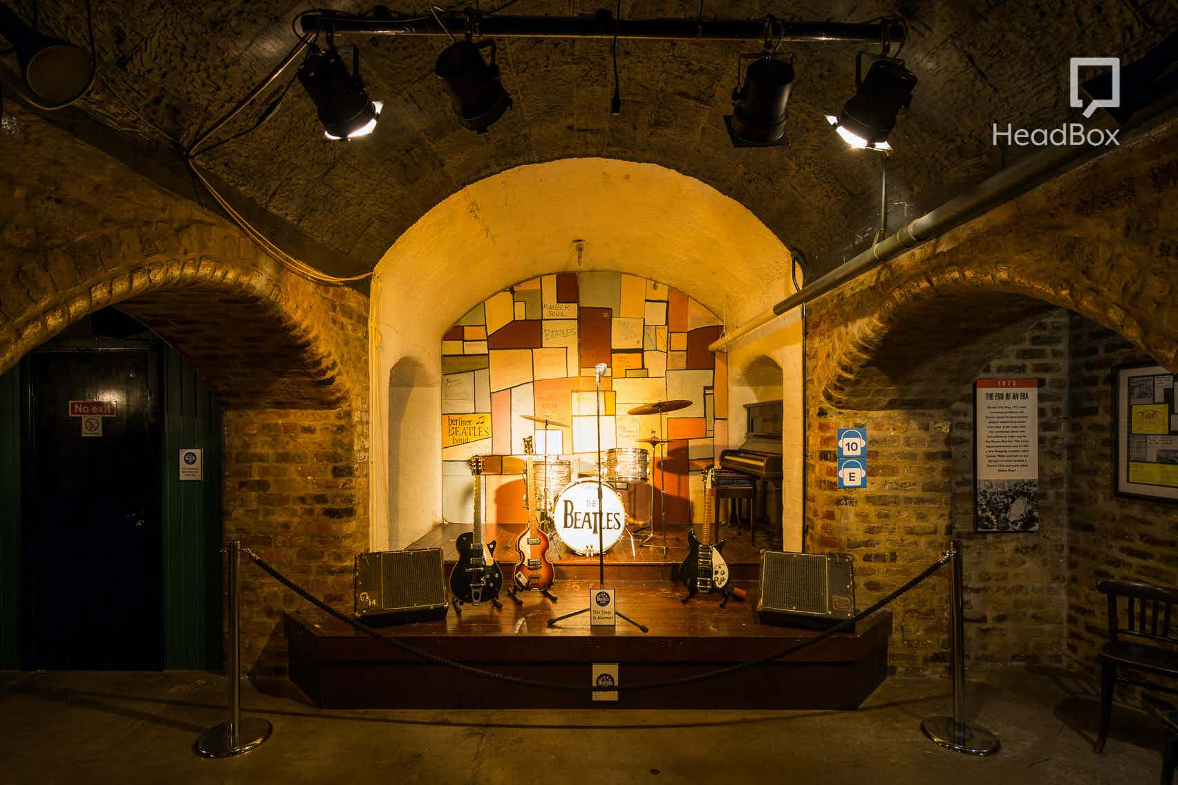 Cavern Club or Matthew Street or White Room, The Beatles Story