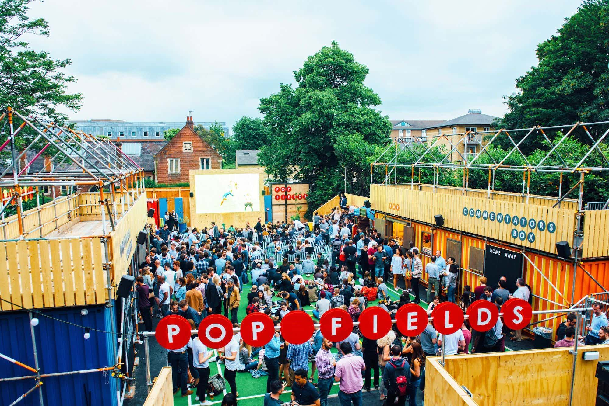 Amazing Outdoor Sports Themed Summer Party Venue, Pop Fields