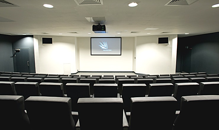 Auditorium Perfect for: lectures, speeches, presentations.