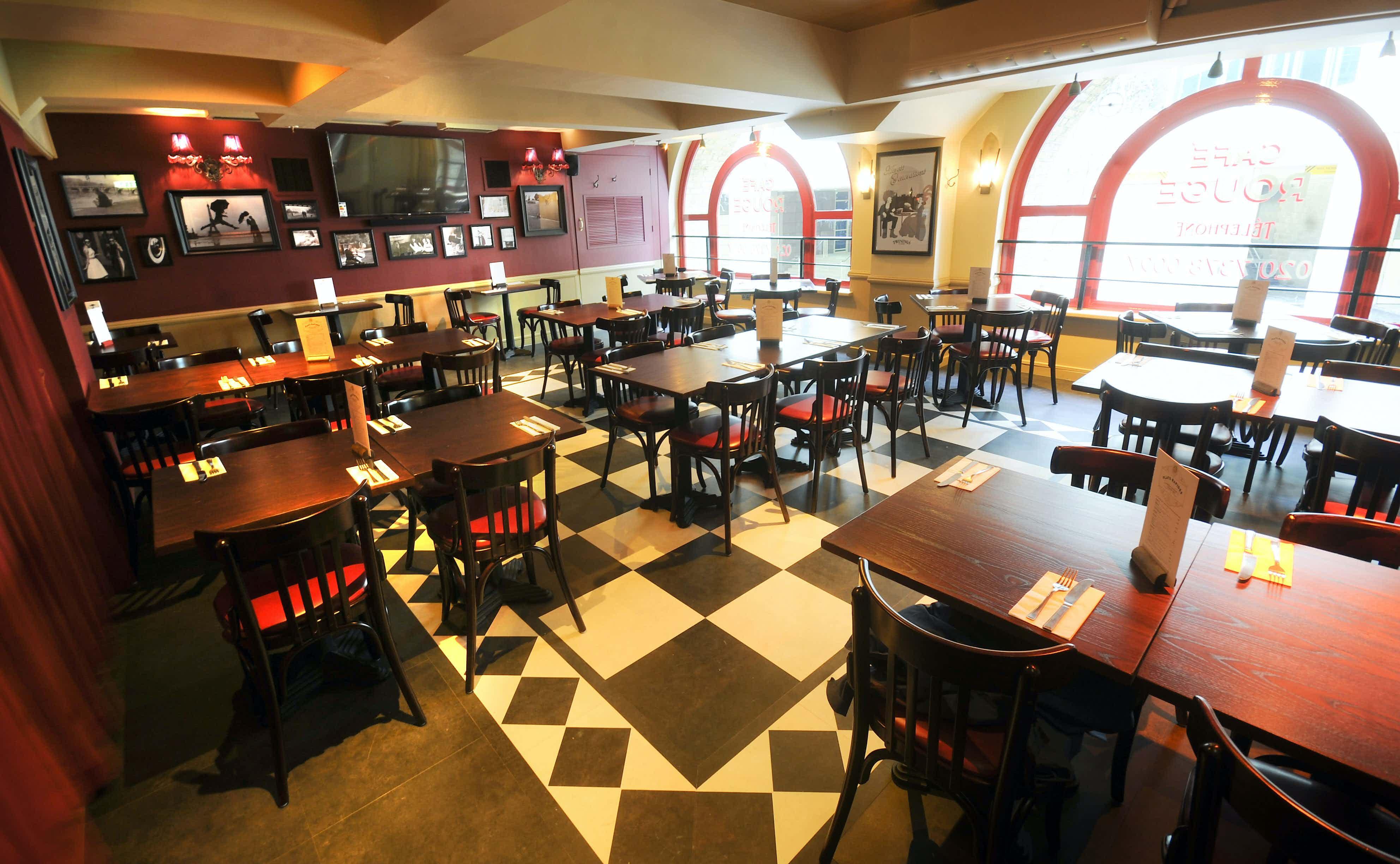 Private Room, Cafe Rouge, Hays Galleria
