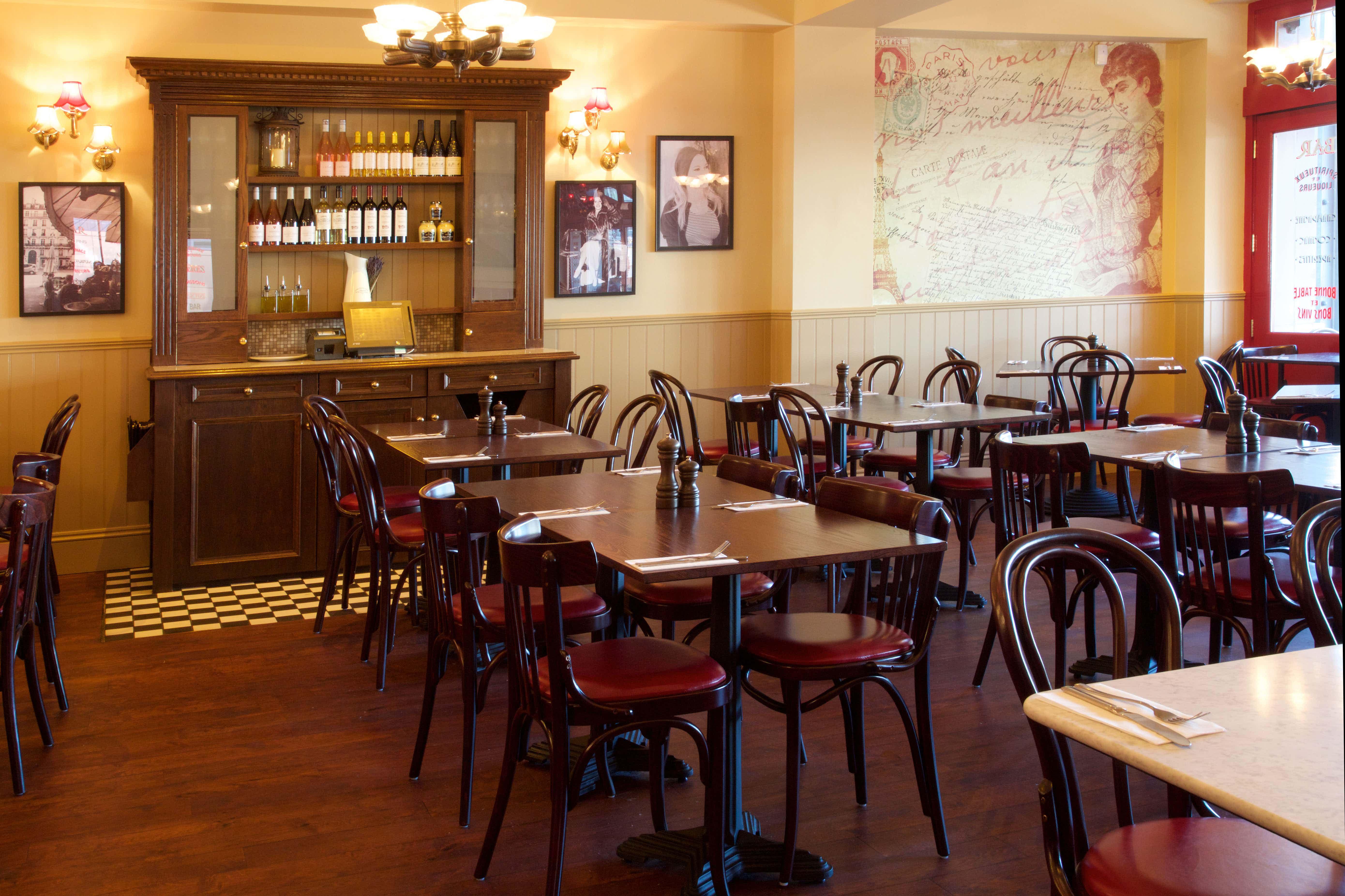 Private Room, Cafe Rouge Birmingham Mailbox
