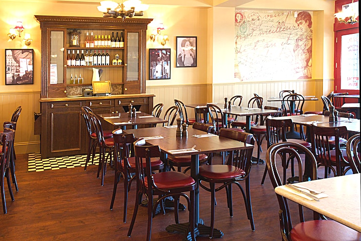 Private Room **Hire the private room at Café Rouge Mailbox Birmingham as the location for a private dining venues hire or as a private party venue hire in the city.**  The venue is situated just a stone's throw