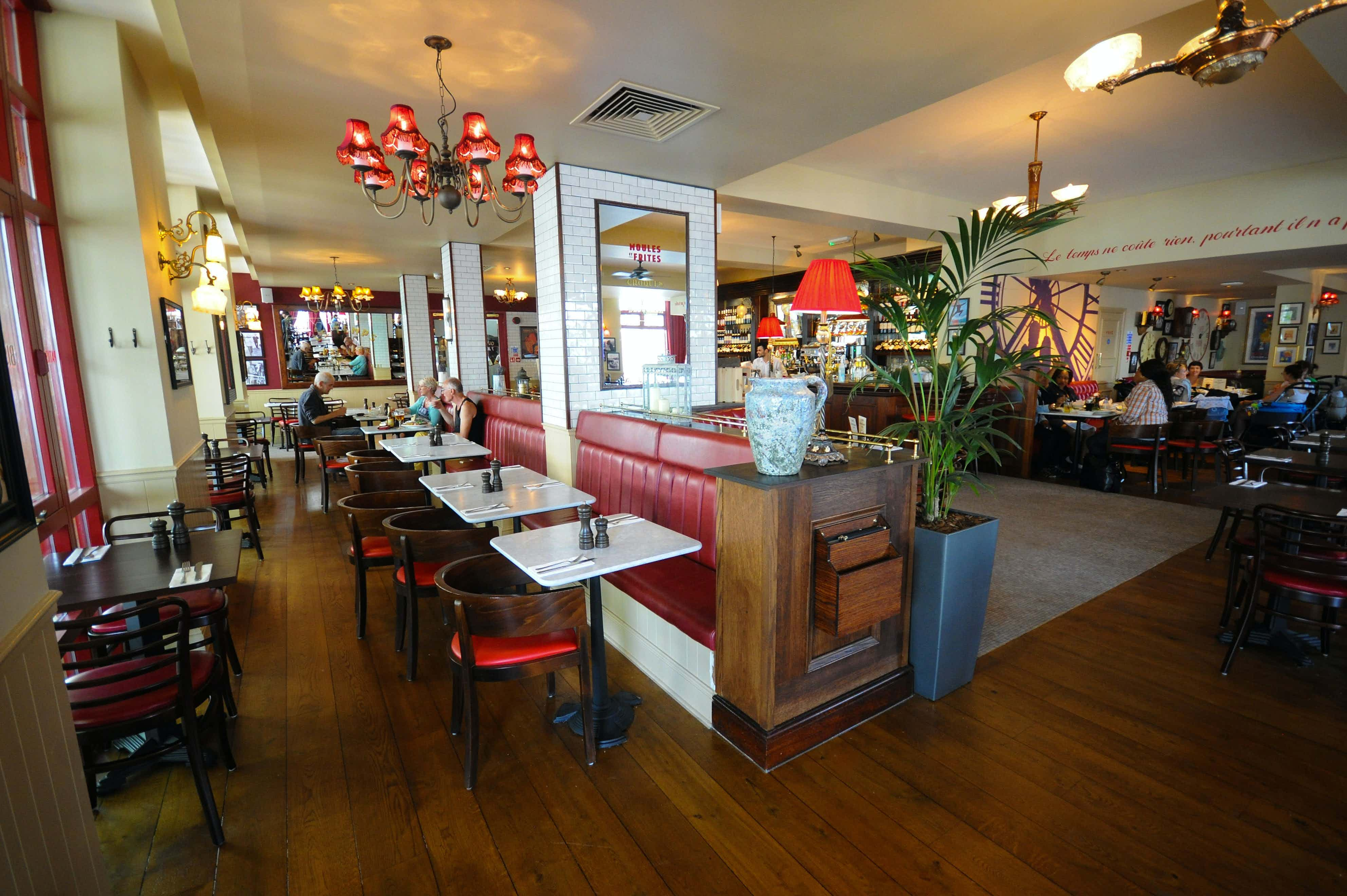 Exclusive Venue Hire, Private Dining, Cafe Rouge Greenwich