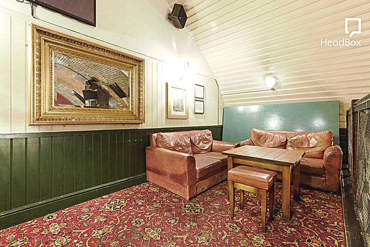Mezzanine **Hire the Mezzanine at The Banker for one of the best private dining venues London has to offer!**   Unfortunately due to the current state of affairs, The Banker will be temporarily closed until f