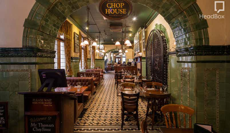 Exclusive Venue Hire , Thomas's Chop House