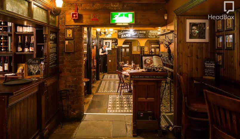 Exclusive Restaurant Hire, Sam's Chop House