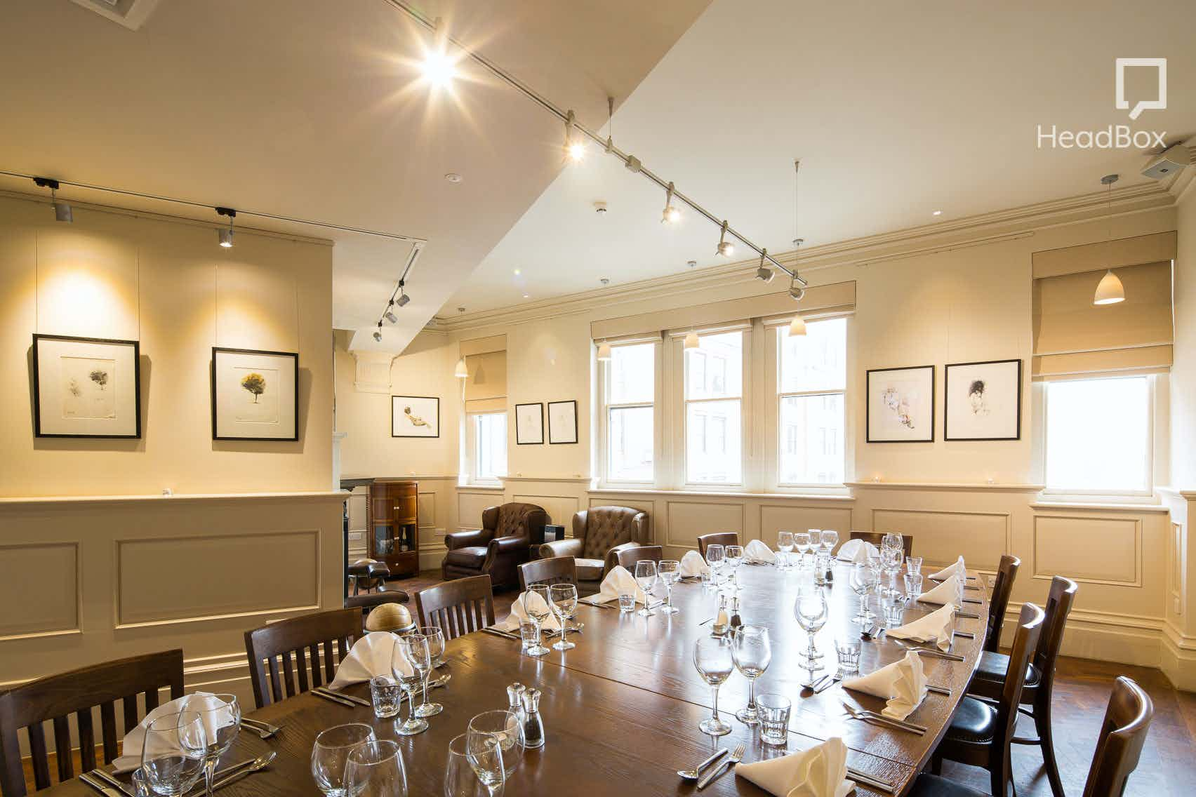 The Thomas Worthington Room, The Albert Square Chop House