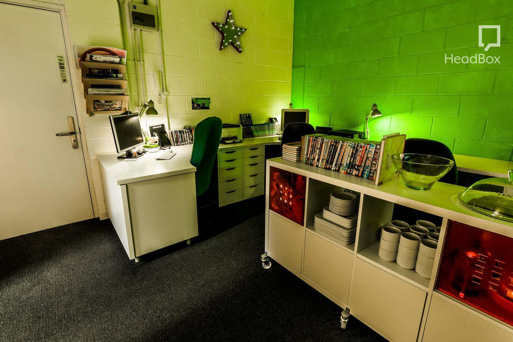 Studio Hire (Inc. Green Room & Edit Suite), Scene Q