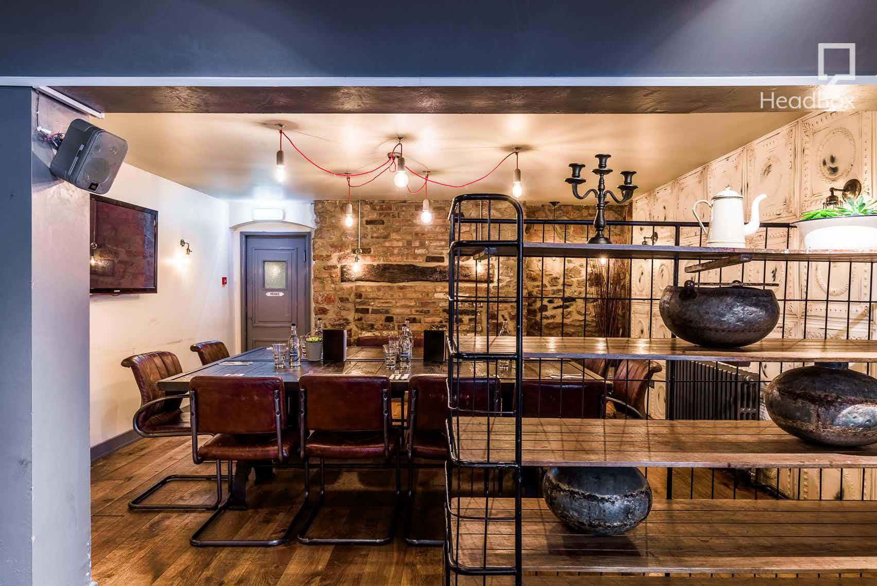 Top Table, Racks Bar & Kitchen