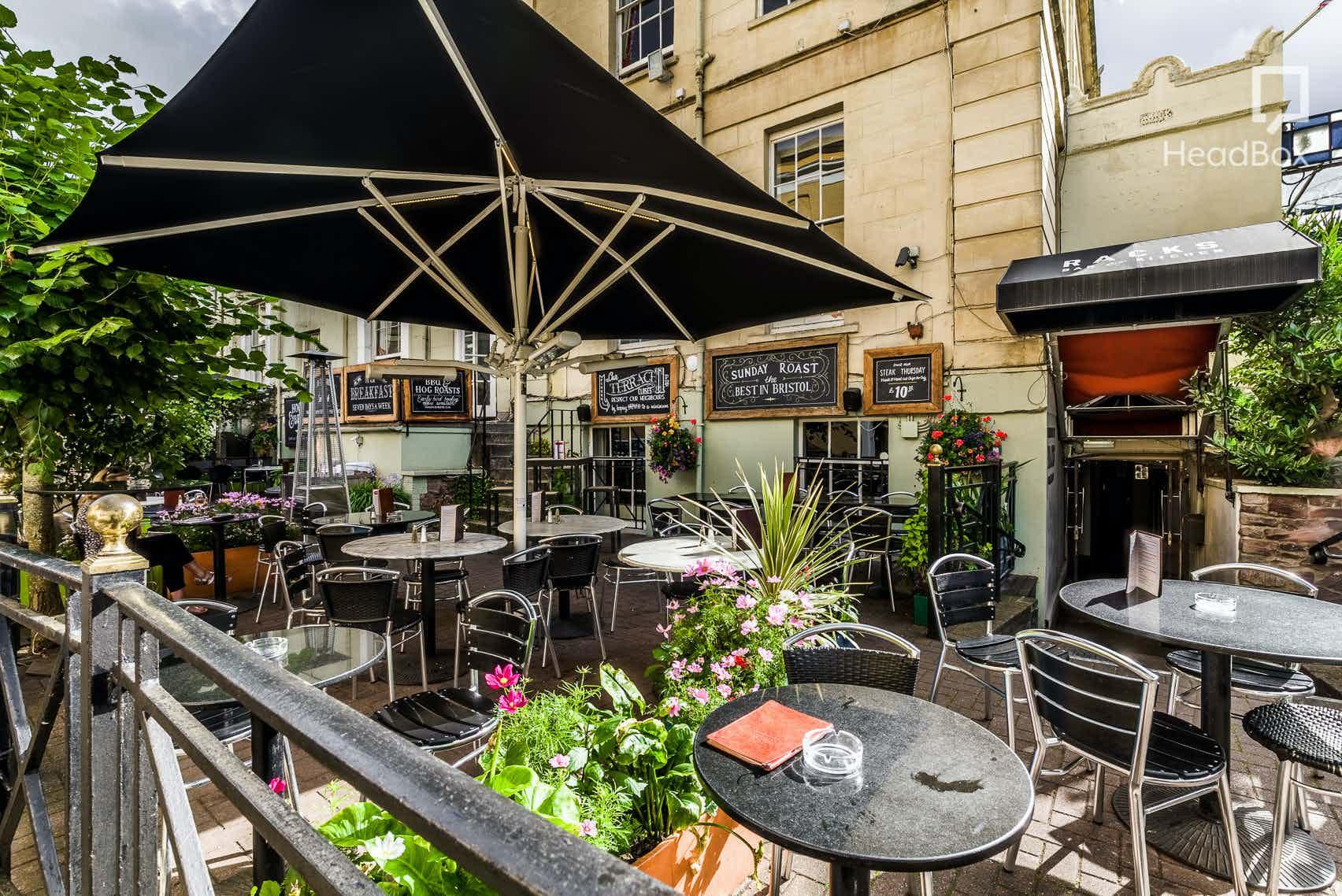The Terrace, Racks Bar & Kitchen