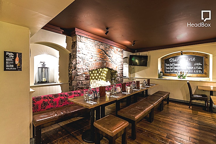 The Speakeasy **Hire the Speakeasy at Racks Bar & Kitchen - Bristol's best party venue is all ready for your big event**