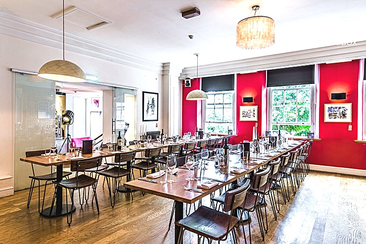 The Square Kitchen **The Square Kitchen is one of the top restaurants in Bristol available for hire, serving award winning food and offering first class service in a stylish and artistic surrounding.**