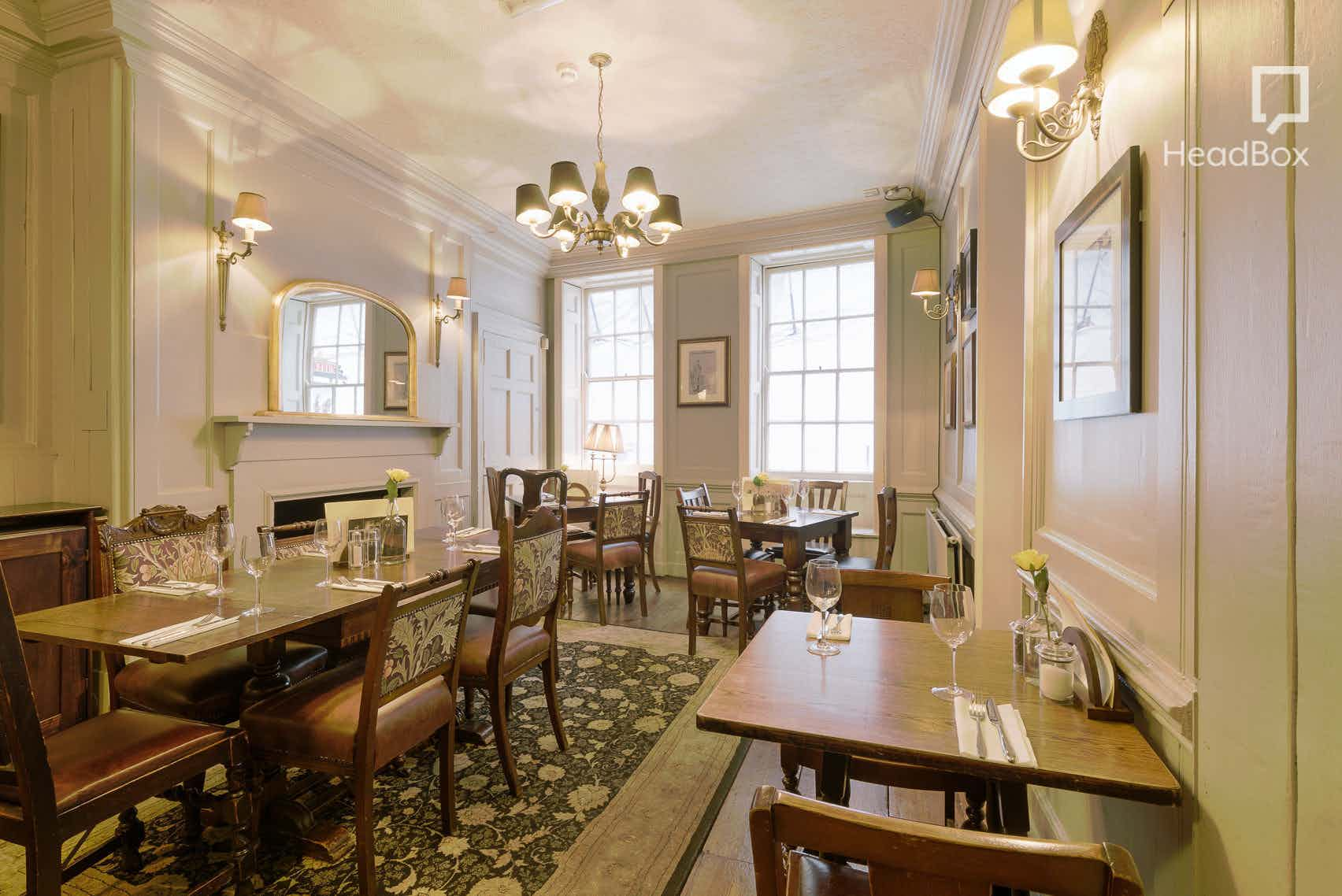 Private Dining Room, The Harrow