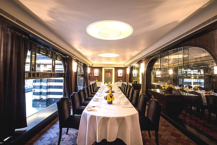 D'Oyly Carte Room **Hire the D'Oyly Carte Room at Savoy Grill, a sophisticated and elegant Space for private dining in Westminster.**  The Savoy Grill offers an unparalleled level of service matched with fantastic fo