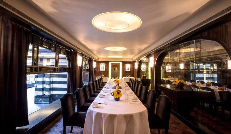 D'Oyly Carte Room, Savoy Grill