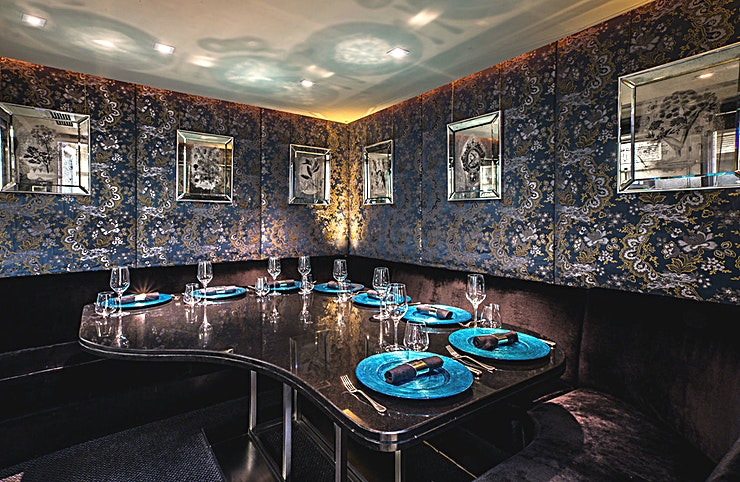 Kitchen Table If you want private dining in one of the best restaurants in London then the Kitchen Table at the Savoy Grill is the best place to go! 