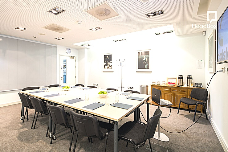 Meeting Room 1 Meeting Room 1 at the Colston Hall is one of the top meeting rooms Bristol has to offer! 