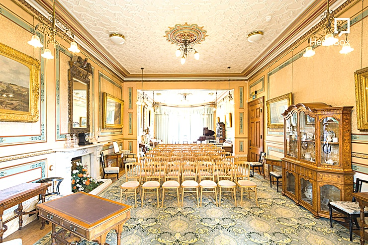 Reception & Dining Rooms **Book the Guild of Guardian's Suite at The Lord Mayor's Mansion House for a unique meeting room hire in Bristol for your next meeting, away day or conference.**  Hire this Space in the Lord Mayor's Mansion House for a unique venue hire in Bristol. This exclusive private meeting and party venue hire is an elegant place for hosting a whole range of events. The Lord Mayor's Mansion House Bristol is situated in the heart of the Clifton neighbourhood, a beautiful area that is within easy reach of Bristol city centre.  This is Bristol's best kept secret . . . what you would expect from one of Bristol's most exclusive addresses. The Mansion House integrates the romance and grandeur of the Victorian era with the luxury, style and exclusivity you would expect, making it the perfect setting for your special event. With its breathtaking surroundings and exquisite detailing and charm, The Mansion House offers a fairytale backdrop guaranteed to beautifully compliment and capture the magic of your day.  This venue is suitable for a huge range of events, including workshops, training days, Bristol meeting room hire, away days and more. If you are looking for an elegant and exclusive venue to host your next business offsite event, this Space in this historic building could be the ideal place.