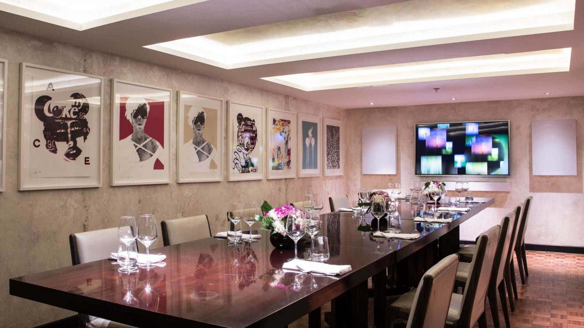 Media Room, Union Street Cafe