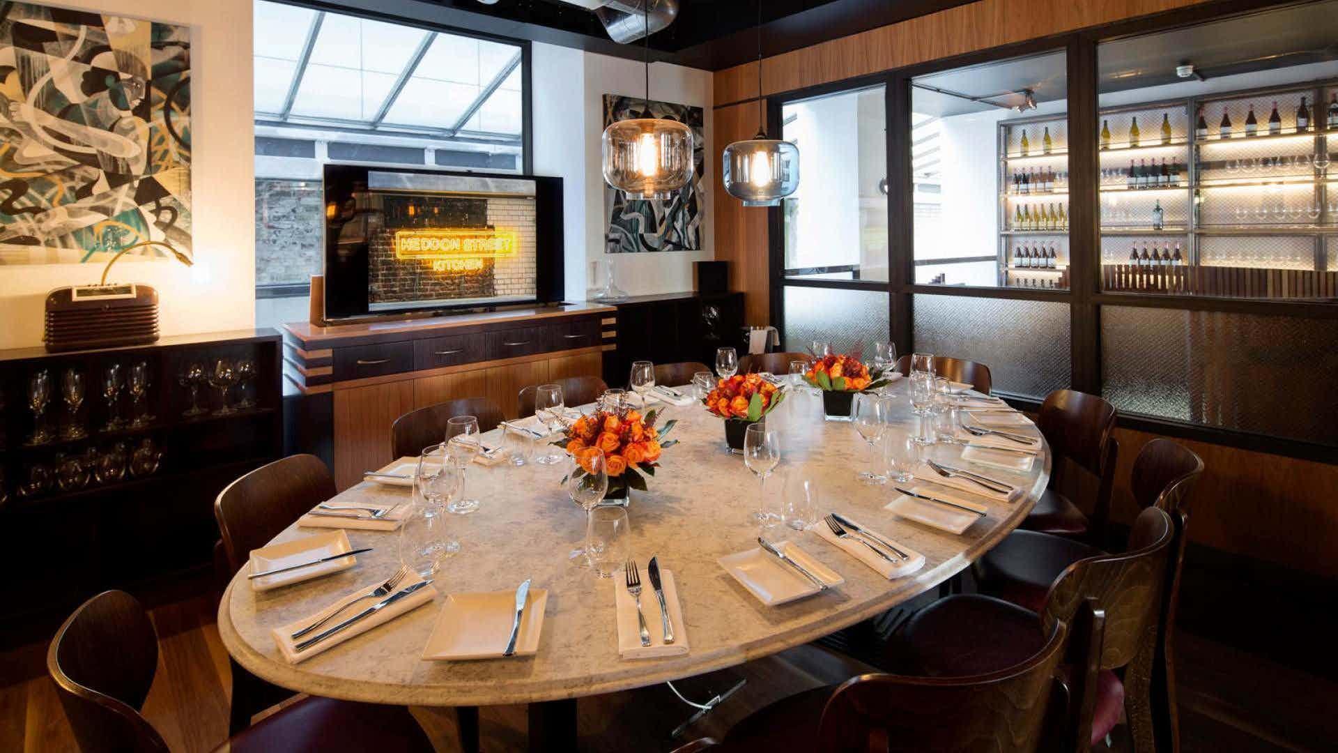 Private Dining Room, Heddon Street Kitchen