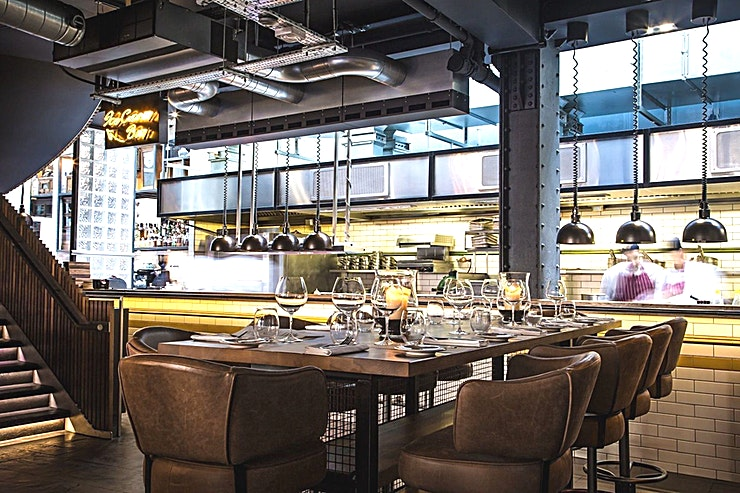 Kitchen Table **Hire the Kitchen Table at Heddon Street Kitchen, an elegant Space providing a private dining experience you won't find elsewhere.**
