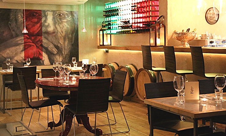 The Cellar A warm intimate space in the heart of Chelsea, ideally suited for private dinners, parties and functions.