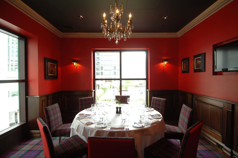 Jack Vettriano Room, Boisdale of Canary Wharf