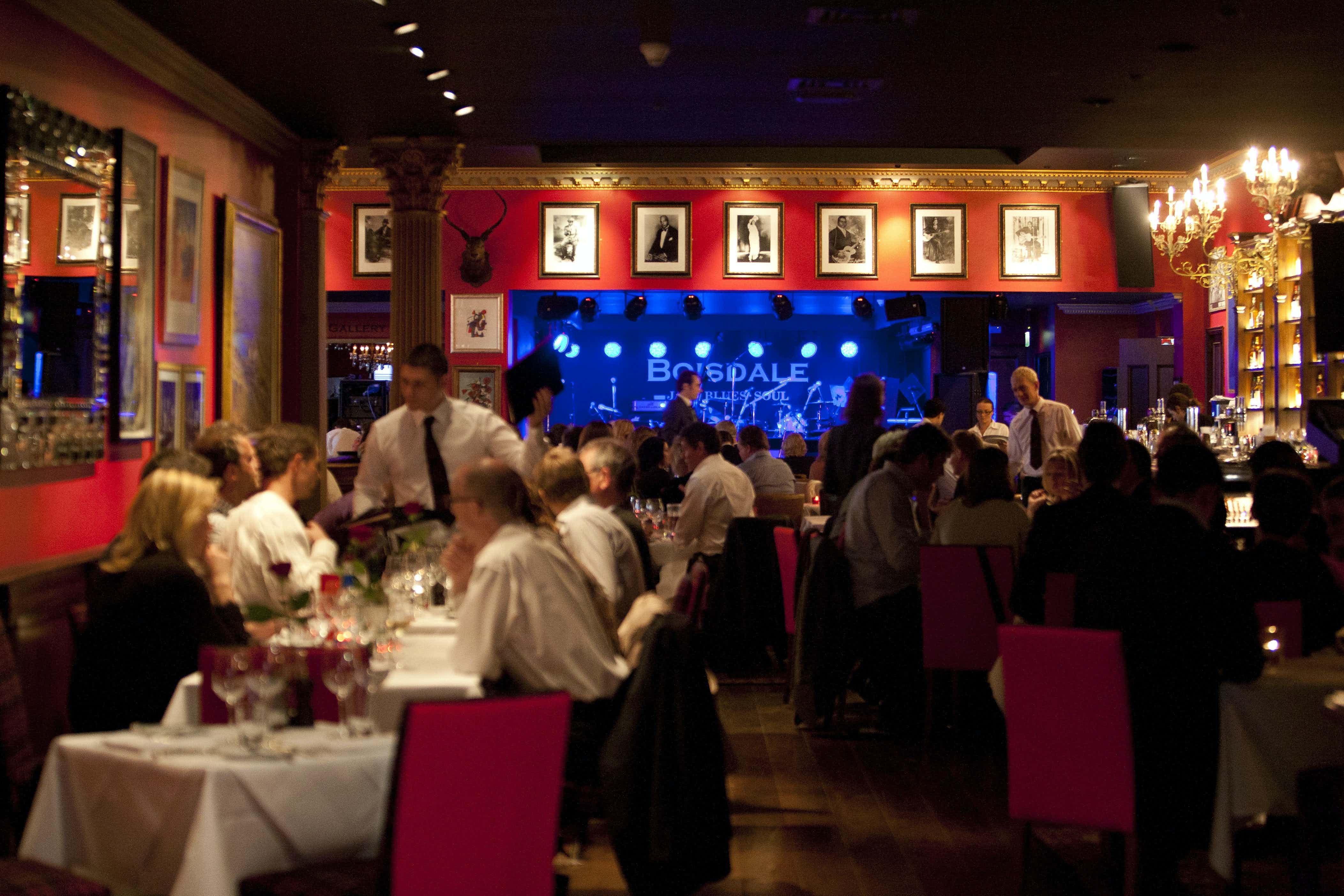 Restaurant & Jazz Club, Boisdale Canary Wharf