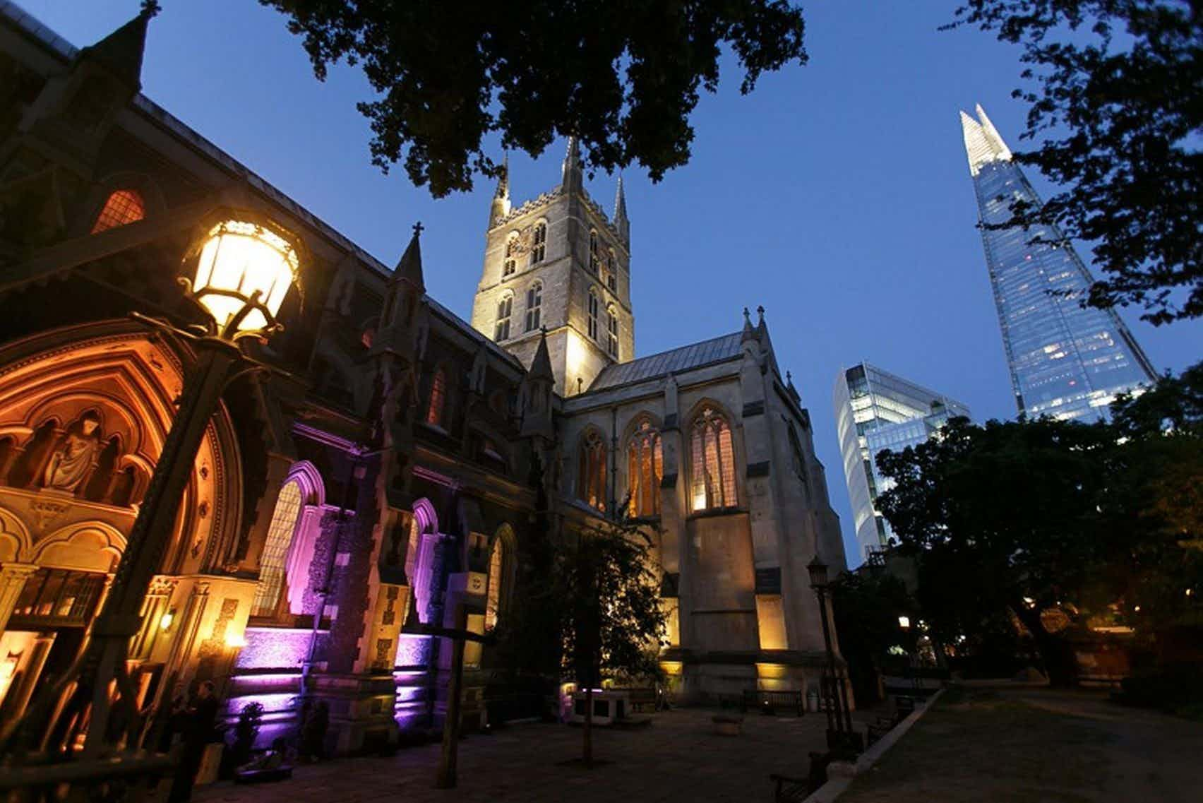 Churchyard, Southwark Cathedral