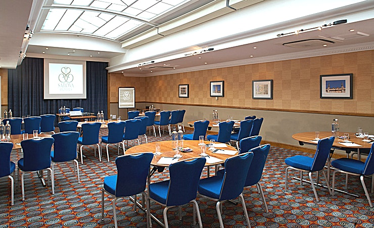 Shaw Suite The Shaw Suite is located on the first floor with an ornate glass ceiling running the length of the room, flooding it with natural daylight. It is a popular setting for conferences and award dinners,