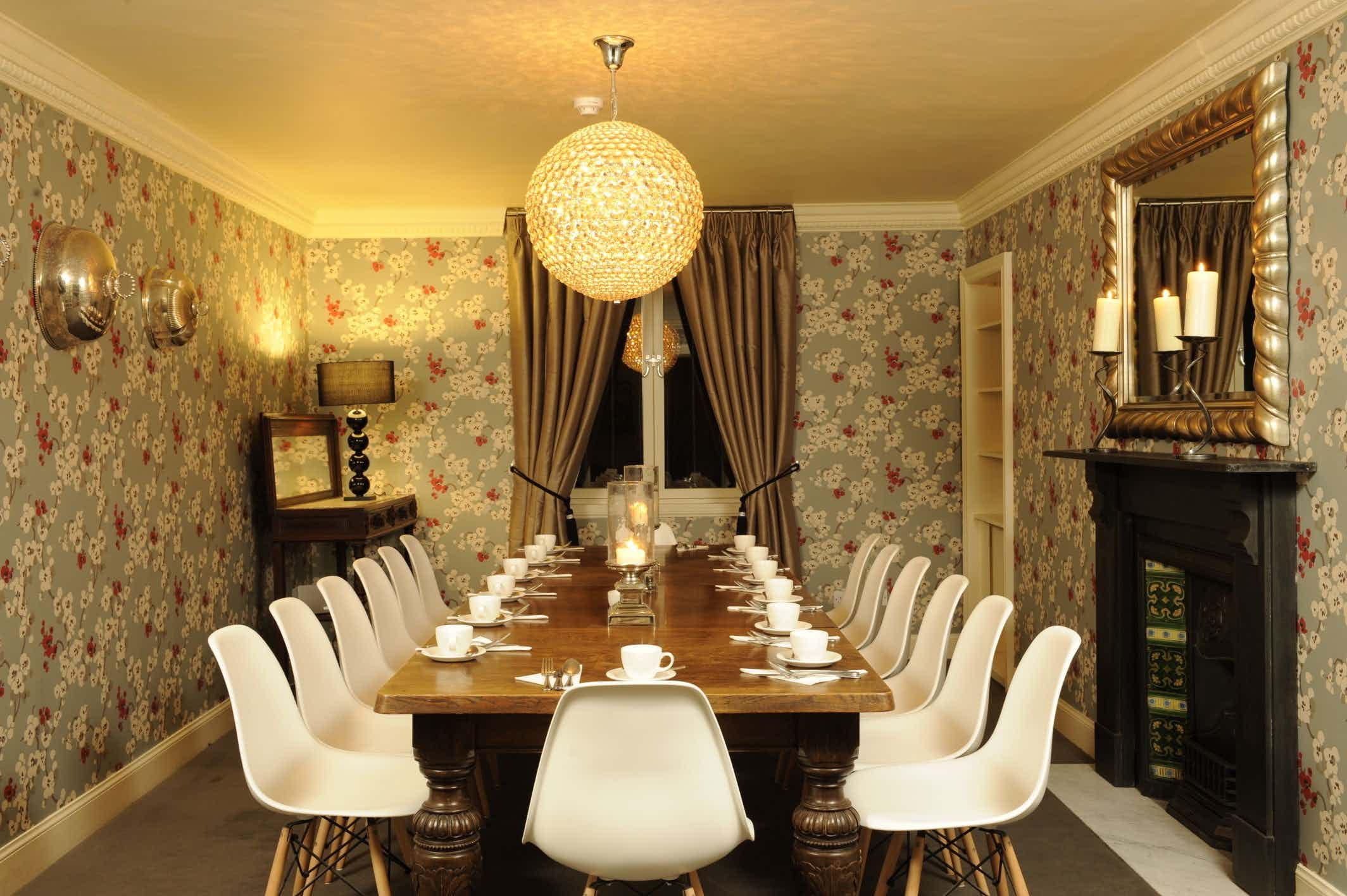 Meeting Room, Brooks Hotel Edinburgh