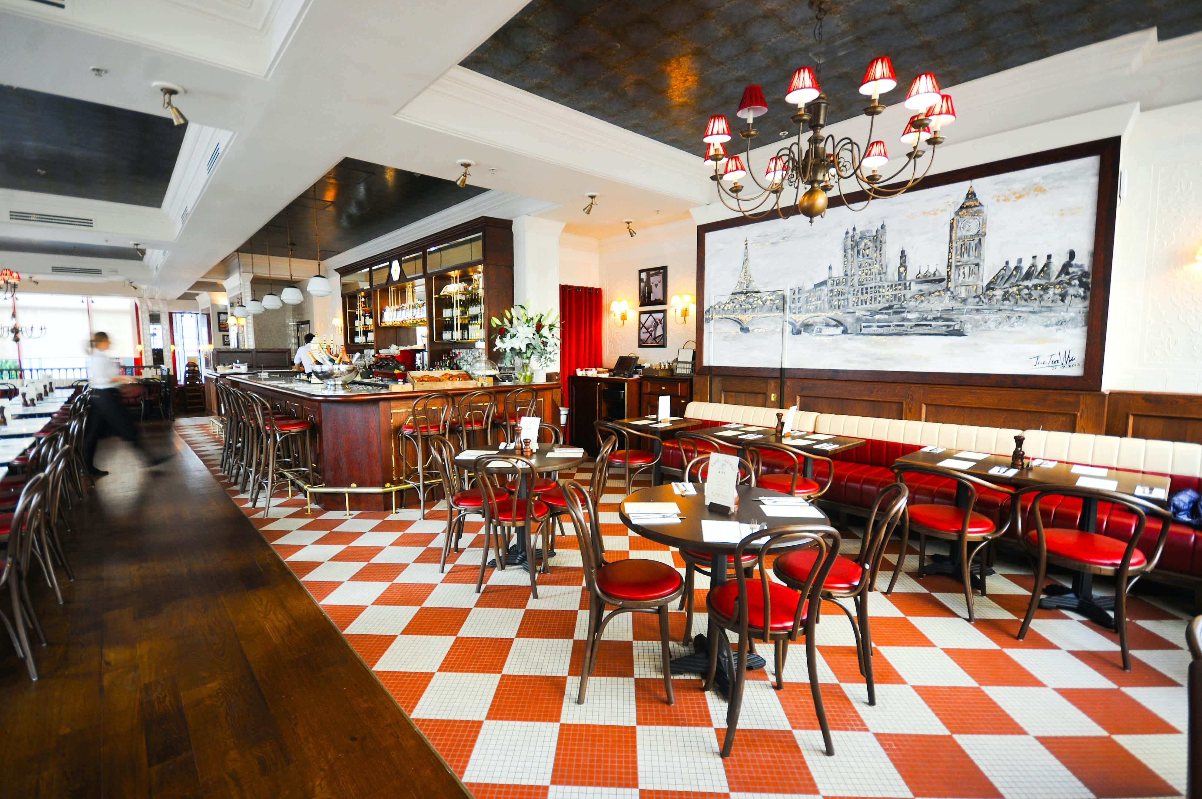 Exclusive Venue Hire, Private Dining, Cafe Rouge St Pauls