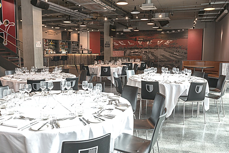 Old Trafford Supporters Club **Exclusively hire the Old Trafford Supporters Club at Hotel Football for an ideal Manchester venue hire for your next private party or corporate event.** 
